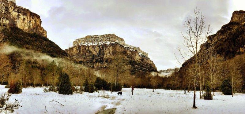 Jeroen met Floyd in de bergen