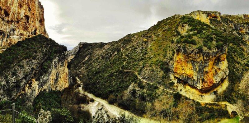 Bergen in Pyreneeen tijdens trailrun
