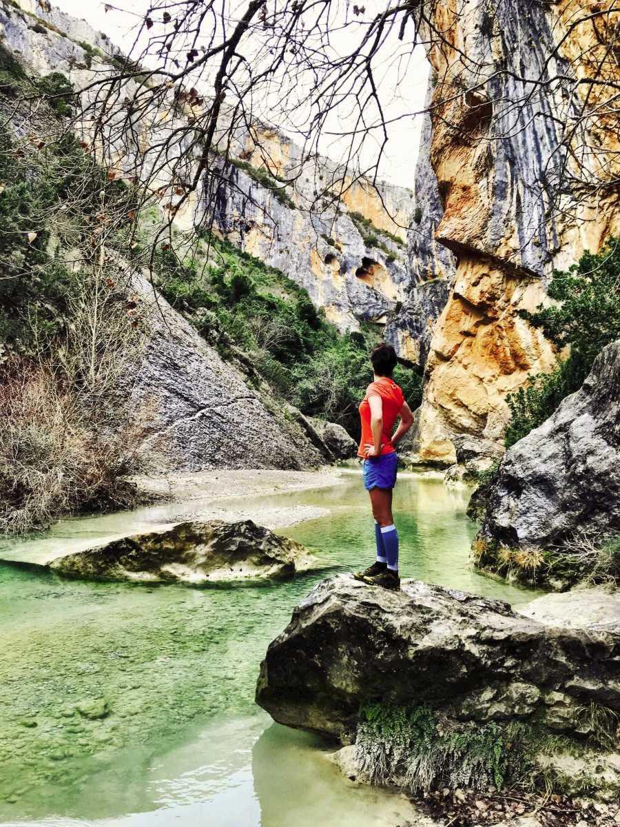 Sandra Bundl Trailrun Pyreneeen