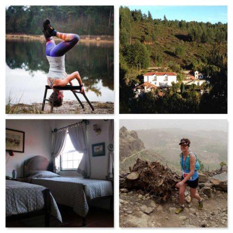 trail running en yoga vakantie